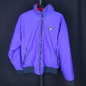 Men's Vintage Woolrich reversible ski jacket med